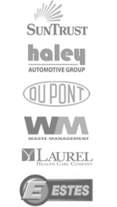 a list of clients that century construction has worked with. Including Suntrust, haley automotive, and laurel health care.