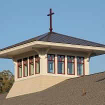 Good Sheppard Lutheran Exterior - Cupolas with Clerestory Windows